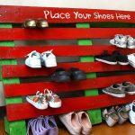Фото 23: Обувница из паллет