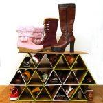 Фото 18: Органайзер для обуви из картона