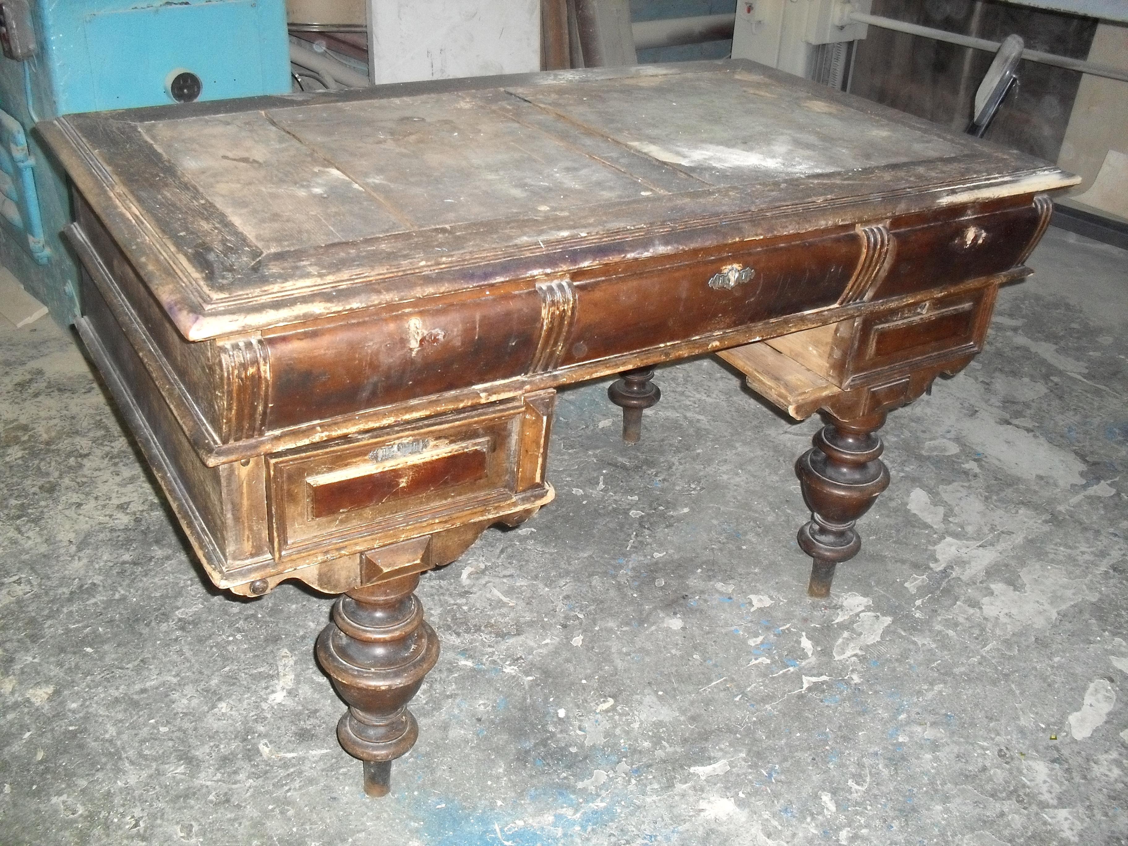 Дефекты старой мебели