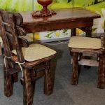 Фото 27: Стол и стулья под старину
