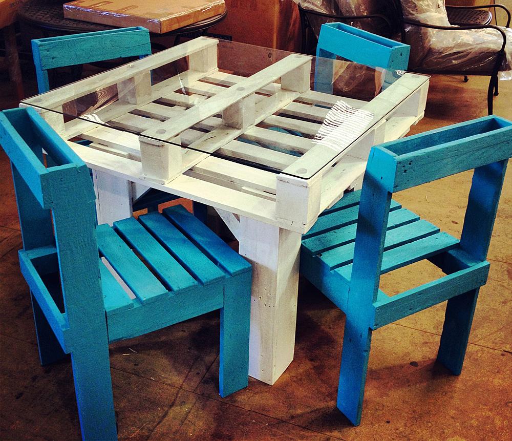 Мебель своими руками из деревянных поддонов