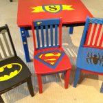 Фото 40: Интересное обновление стульев под супергероев