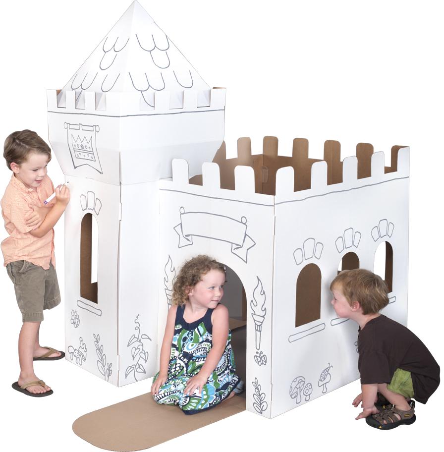 Роспись мебели из картона
