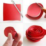 Фото 59: Как сделать розу