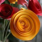 Фото 61: Цветы бумажные