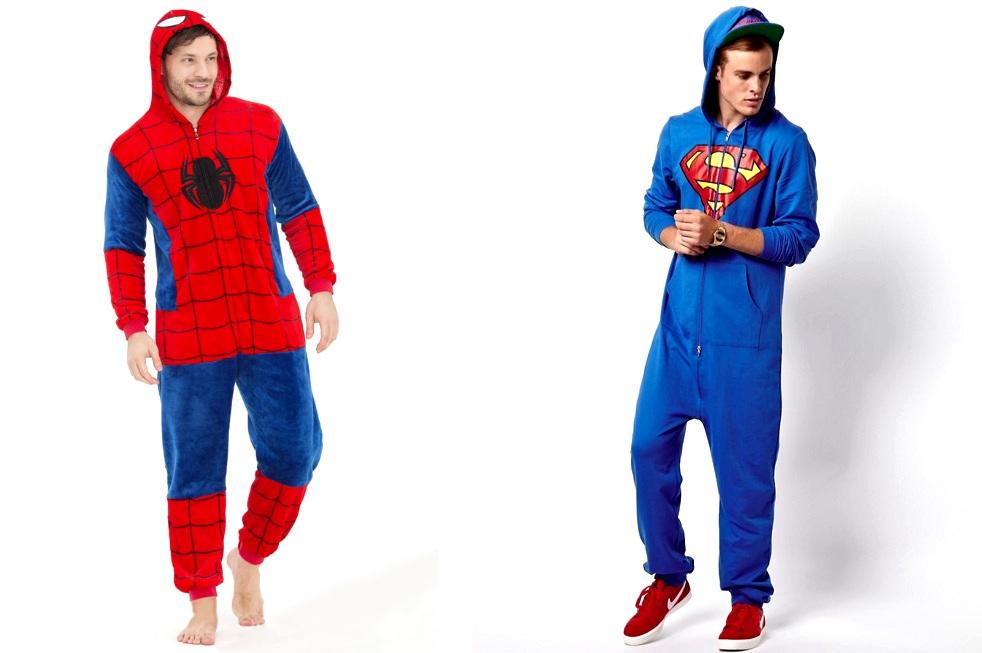 Пижамы супергероев