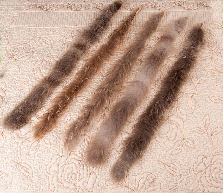 После стирки и перед окрашивание мех обязательно нужно высушить
