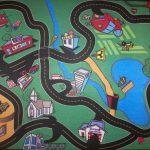 Фото 22: Дизайн детского ковра с дорогами