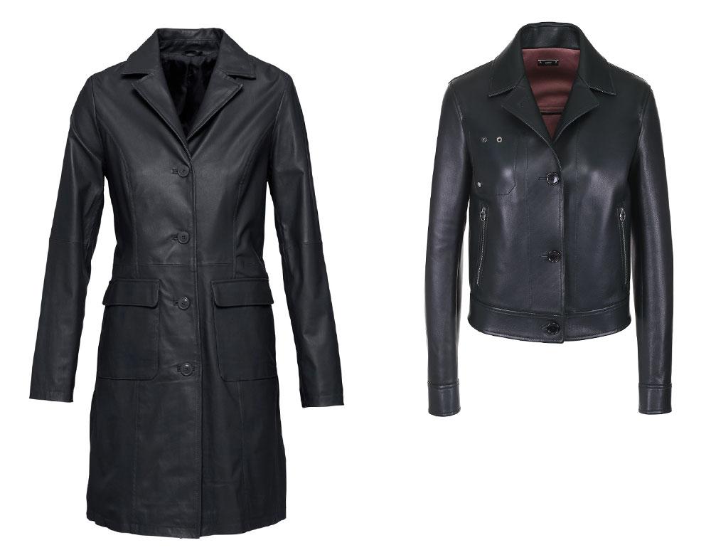 Кожаная куртка из кожаного плаща