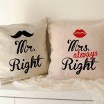 Фото 27: Парные подушки для женатых