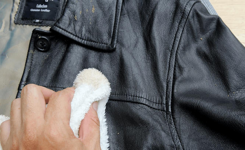 Ремонт кожаной курточки в домашних условиях