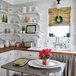 Фото 43: Бамбуковые шторы на кухне