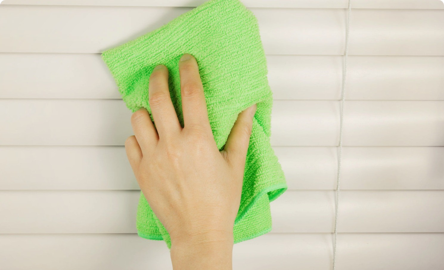 Мытье жалюзи