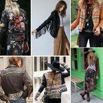Фото 17: Кожаные куртки в стиле бохо