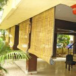 Фото 20: Бамбуковые рулонные шторы- занавески