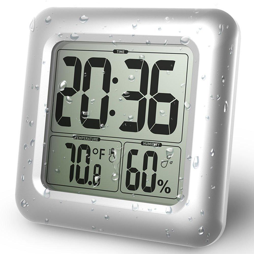 Часы цифровые с датчиком температуры