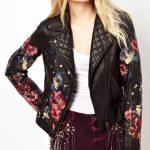 Фото 31: Куртка с цветочным принтом