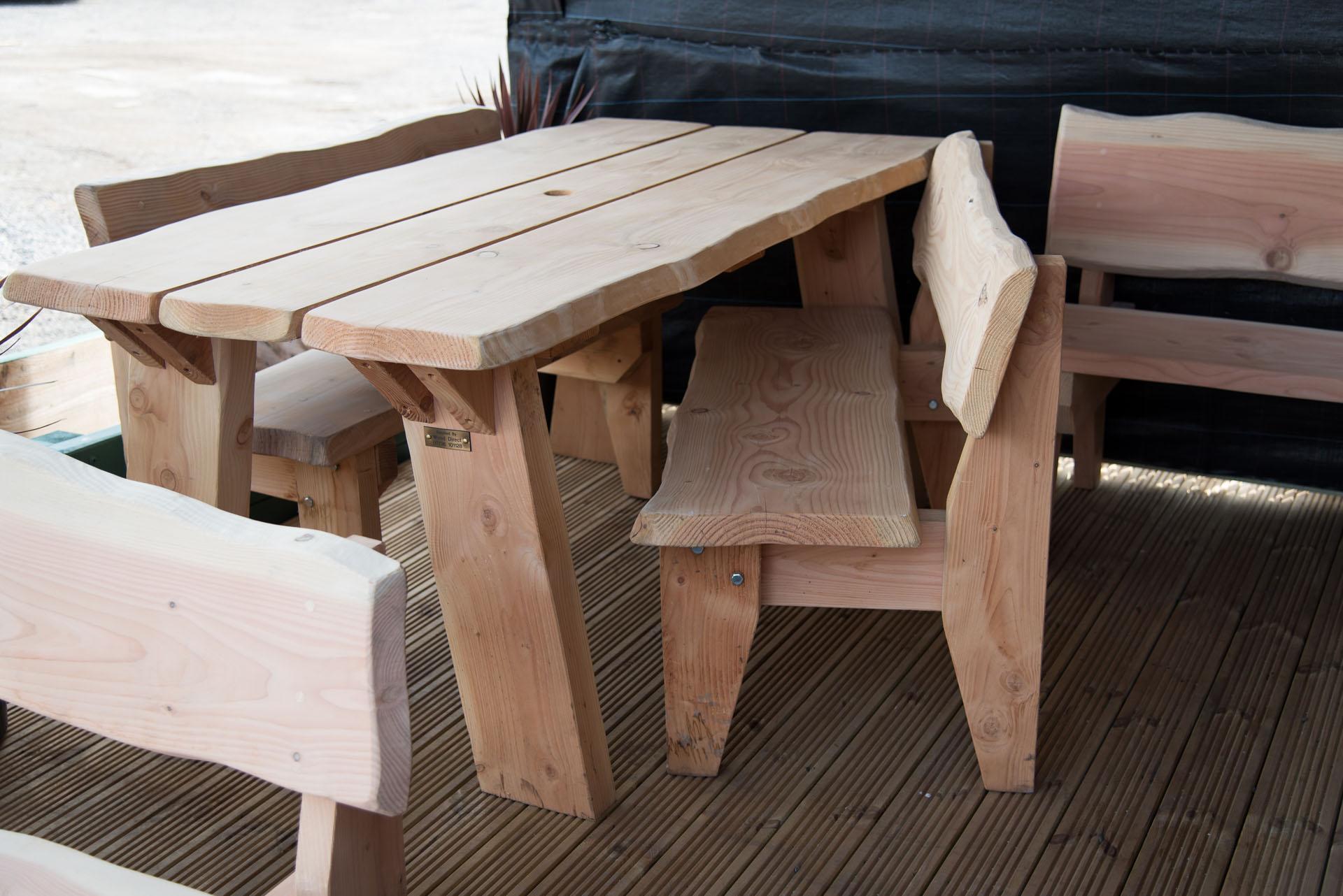 Мебель из дерева самодельная