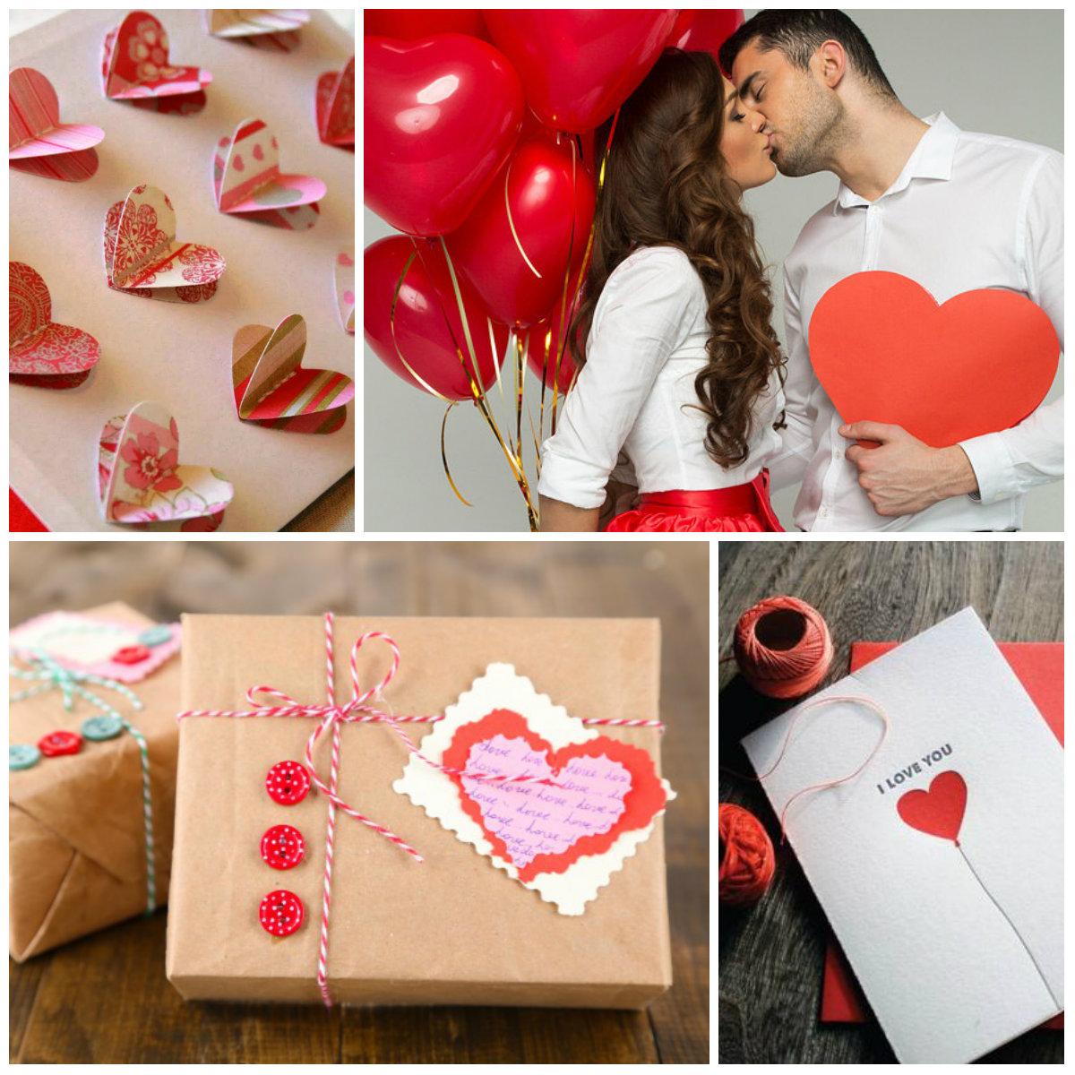 Выбор подарков на 14 февраля