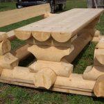 Фото 24: Мебель из бревна своими руками