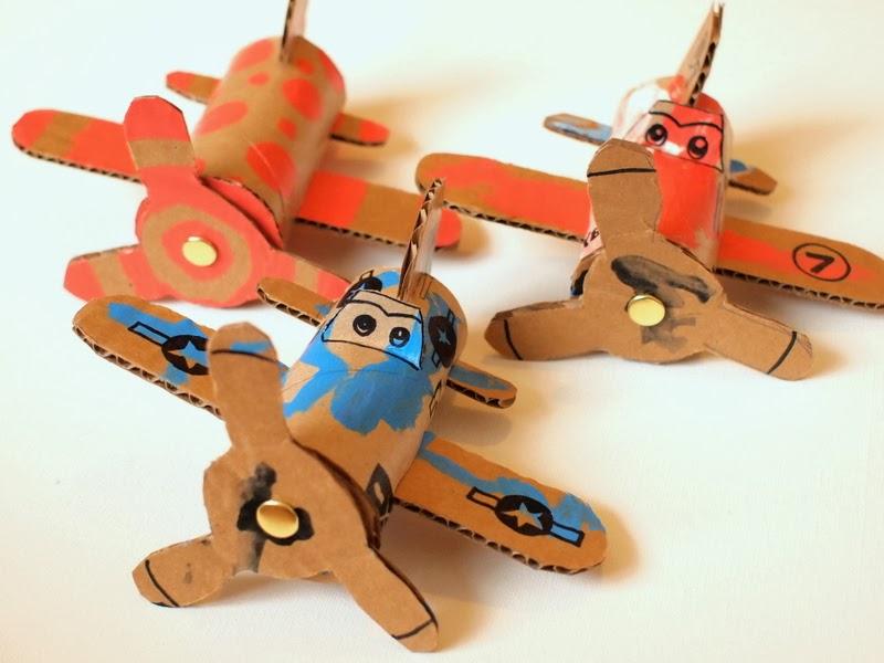 Самолетики к 23 февраля своими руками