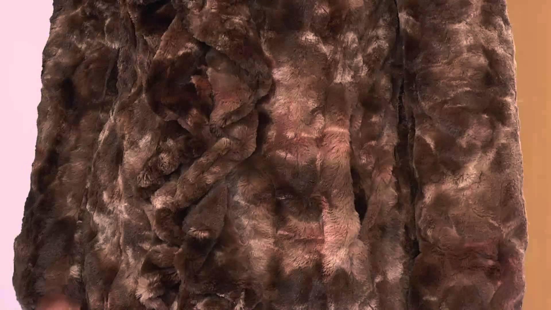 Пастельному меху лучше придать насыщенный коричневый оттенок