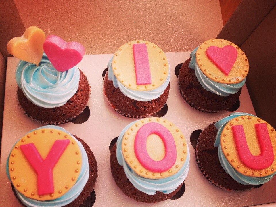 Кексы для любимого