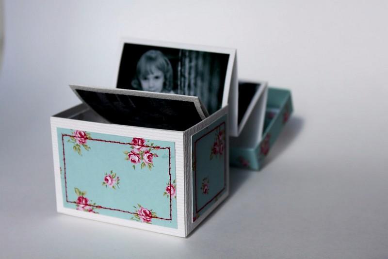 Коробочка воспоминаний с фотографиями