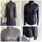 Фото 15: Куртка из кожаного плаща