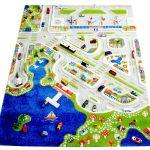 Фото 24: Детский ковре с дорогами в виде полуострова