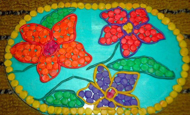 Открытки из пластилина с днем рождения 14