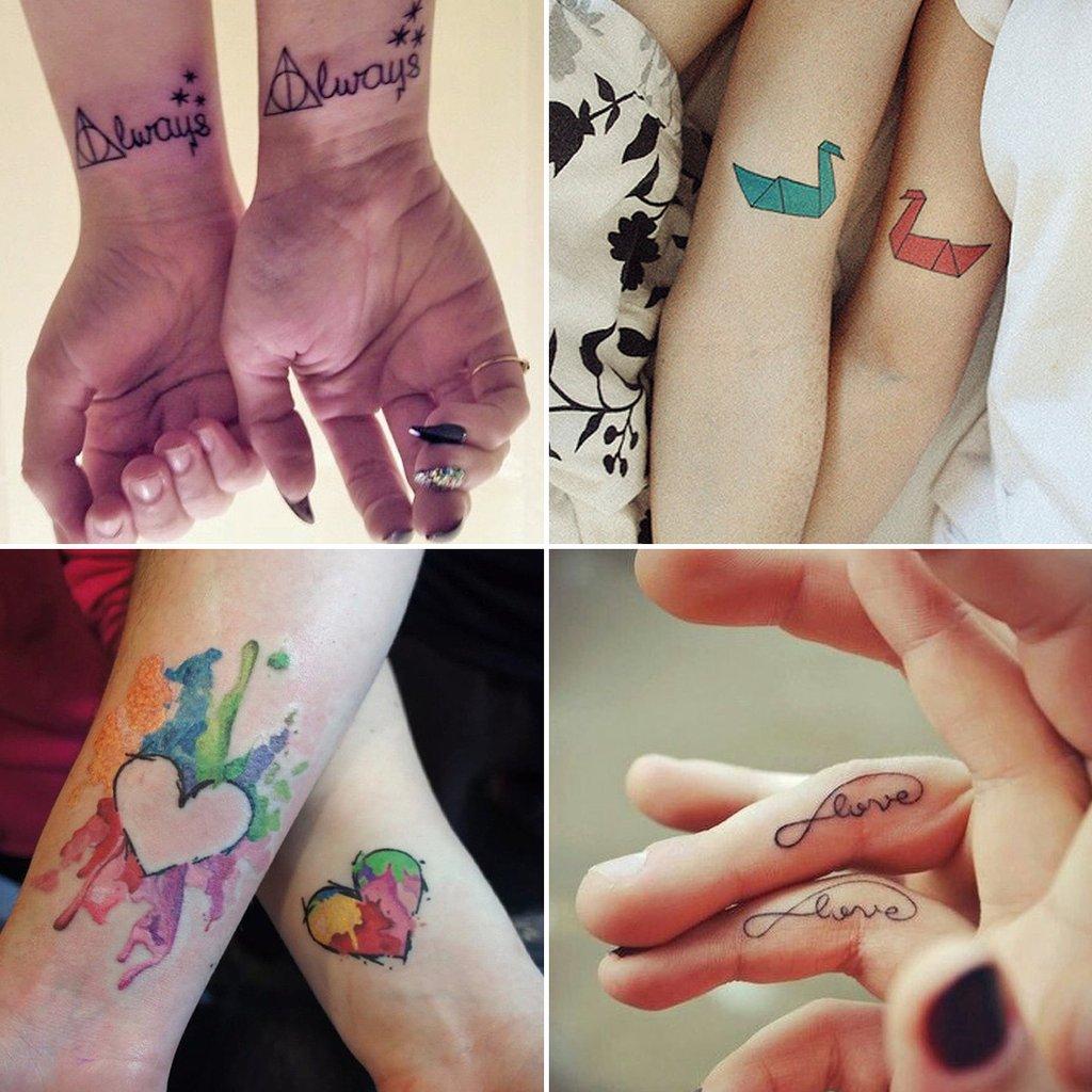 Татуировка своими руками на пару дней 63