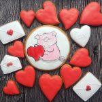 Фото 48: Печенье со свинками