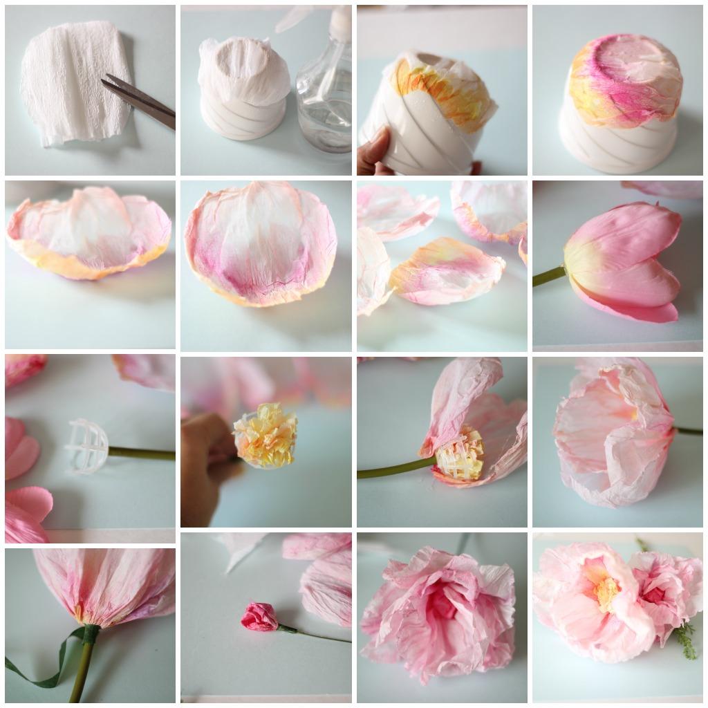 Как сделать розу из гофрированной бумаги своими руками? 78