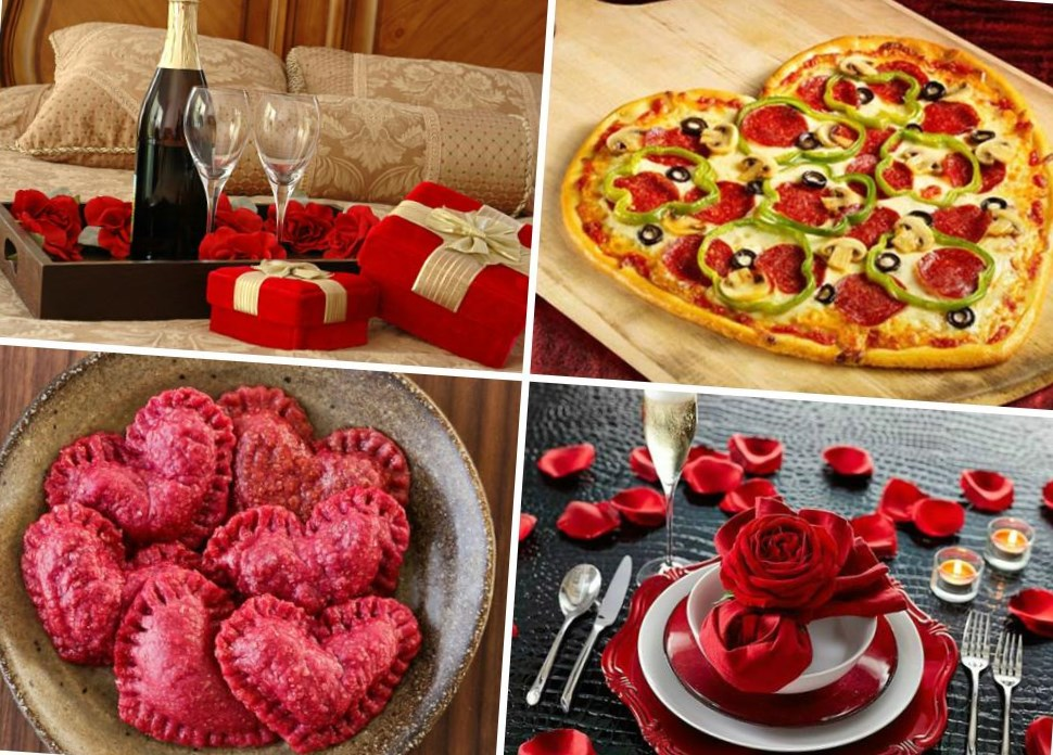 Пицца и пельмени на 14 февраля