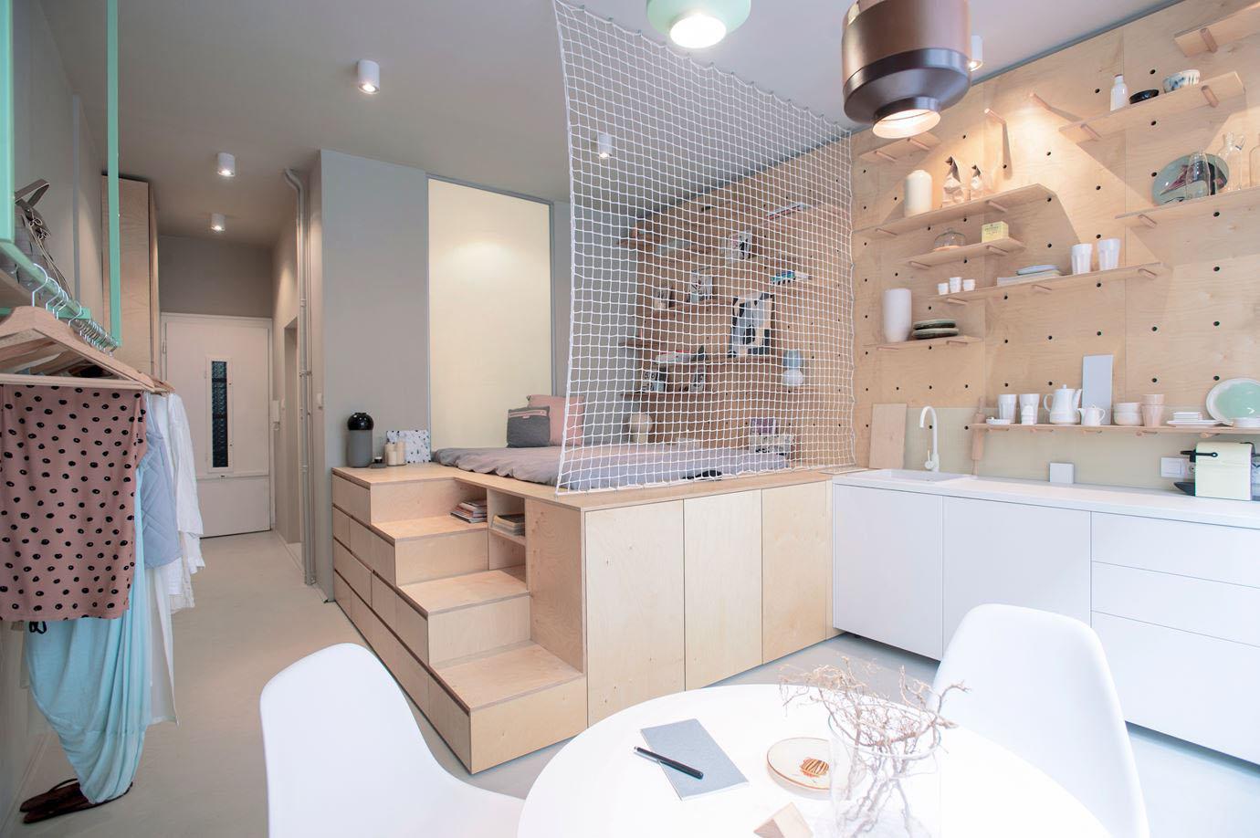 Квартира-студия мало пригодна для проживания многодетных семей