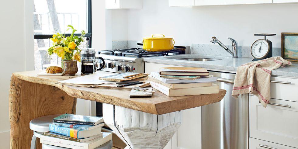 Барная стойка сможет заменить не только обеденный, но и рабочий стол
