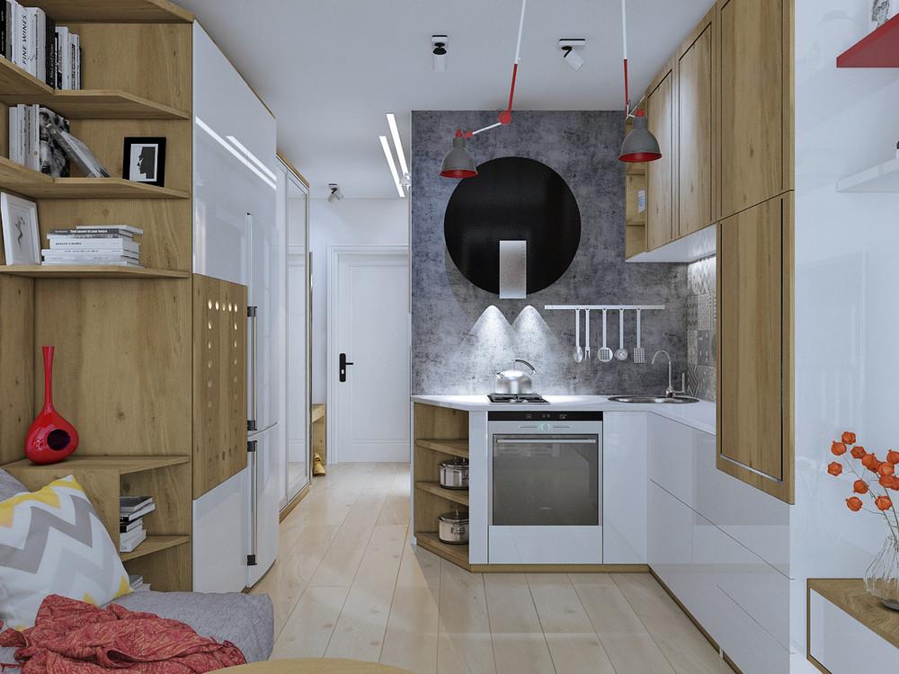 Не все проекты жилых домов предусматривают перестройку квартиры под студию