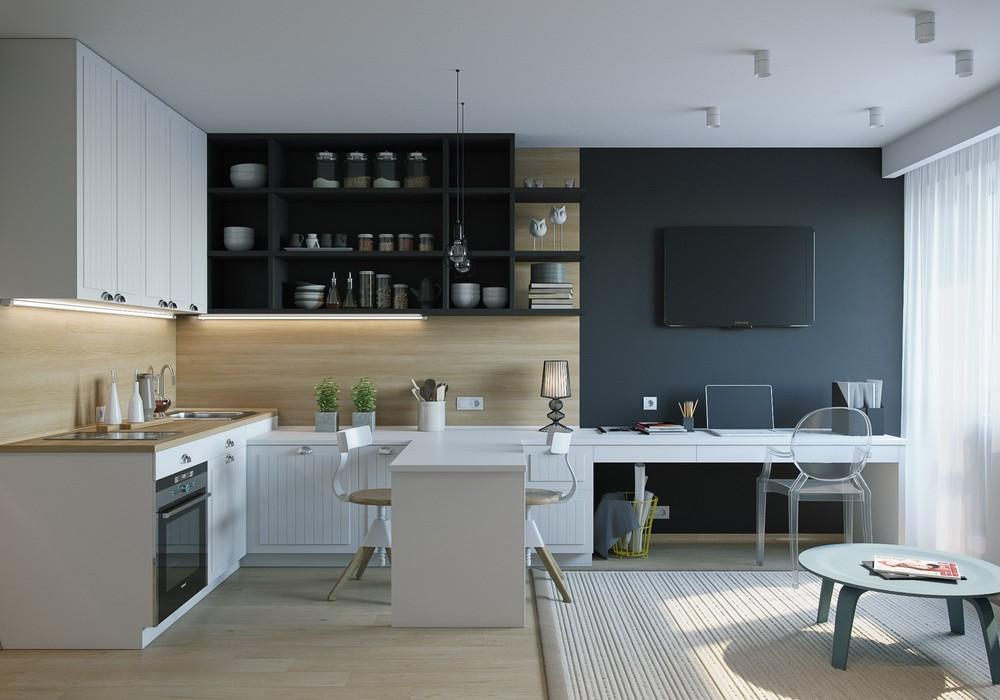 Квартиры-студии бывют не только бюджетными, а вполне элитными, построенными в престижных местах