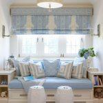 Фото 22: Римские шторы под мебель