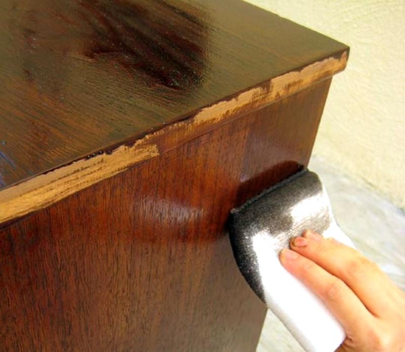 Покрасить тумбу из дсп своими руками