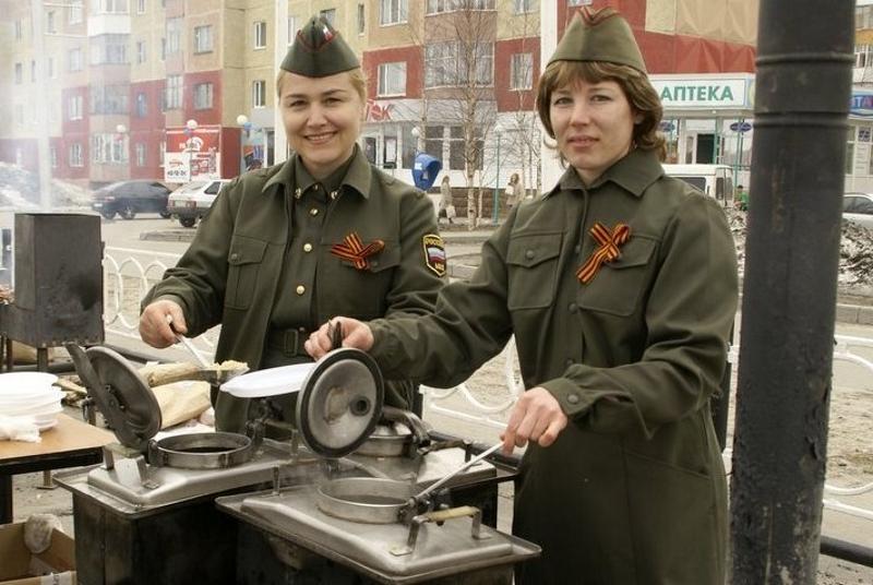 Полевая кухня на День Защитника Отечества