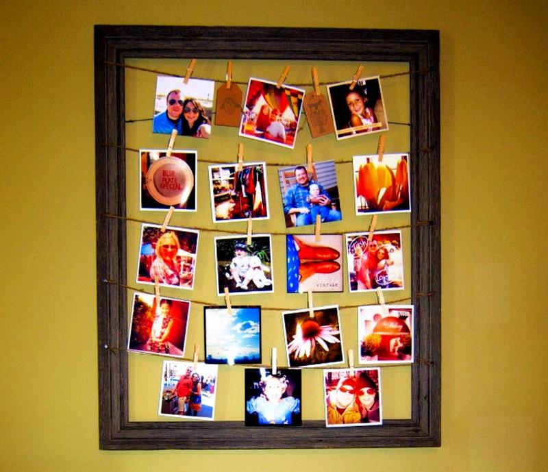 Как оформить коллаж с фотографиями своими руками