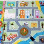 Фото 26: Развивающий детский коврик с дорогами
