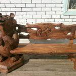 Фото 29: Резная мебель из дерева
