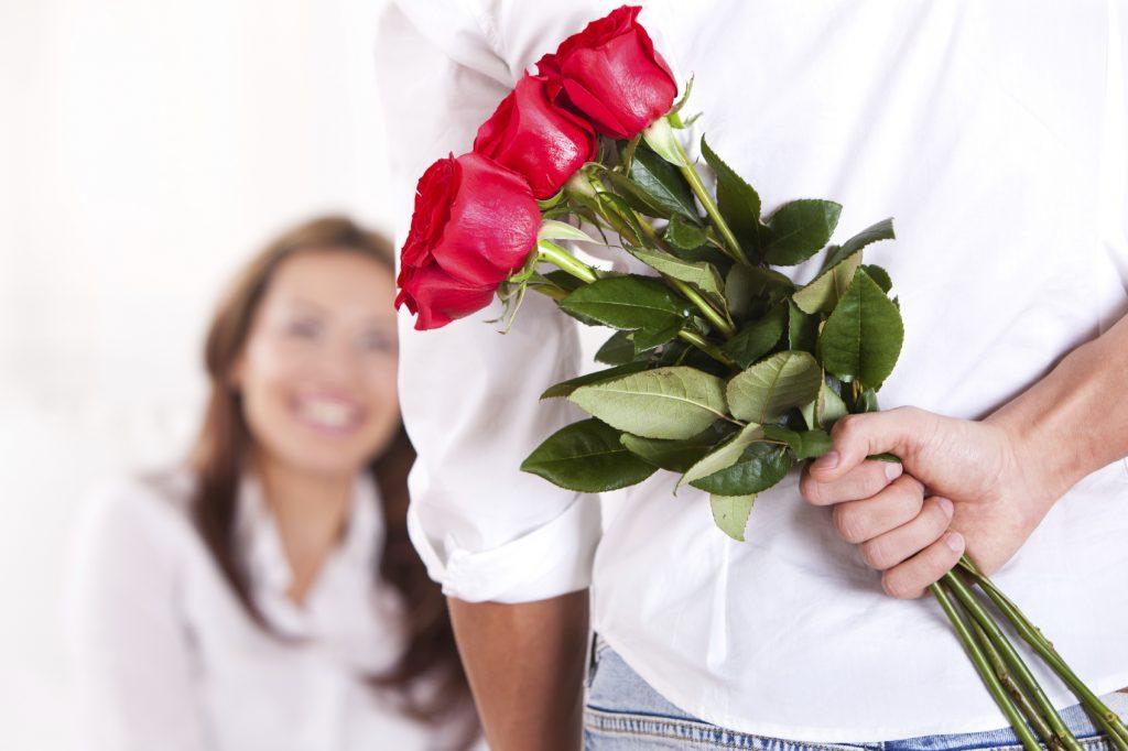 Розы для любимой на 8 Марта