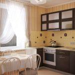 Фото 51: Немецкие шторы на кухне