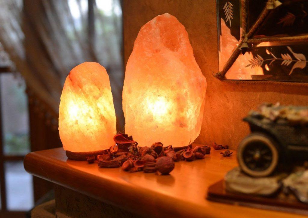 Соляная лампа в подарок