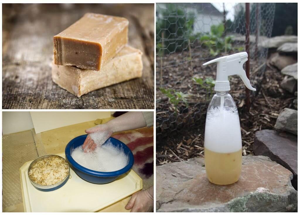 Спрей из хозяйственного мыла