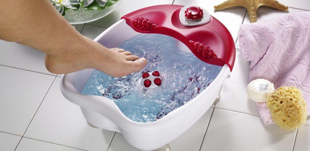 Ванночка-массажер в подарок